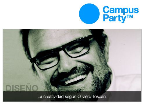 Olivero Toscani en la Campus Party 2010