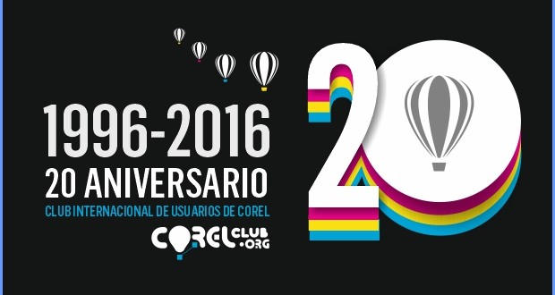 Celebramos nuestro 20 aniversario en CORELCLUB