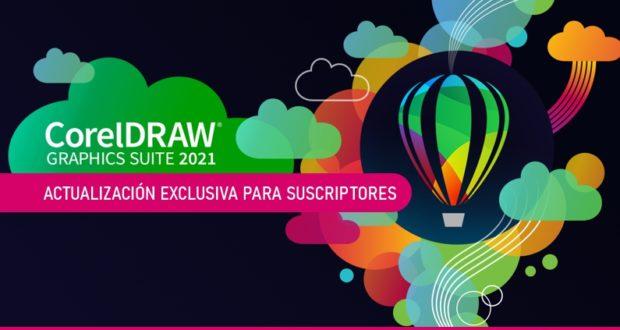 Actualización a CorelDRAW 2021.5 exclusiva para suscriptores