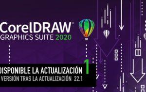 Descarga la actualización 1 para CorelDRAW 2020