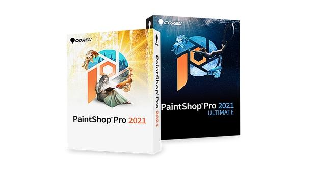 Caja Corel PAINTSHOP PRO 2021