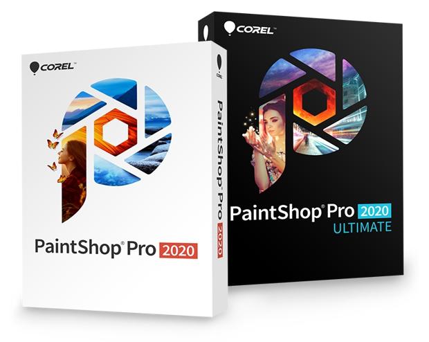 Cajas PaintShop Pro 2020