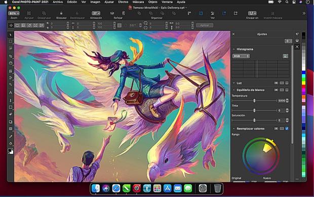 Corel Photo-Paint 2021 en Mac