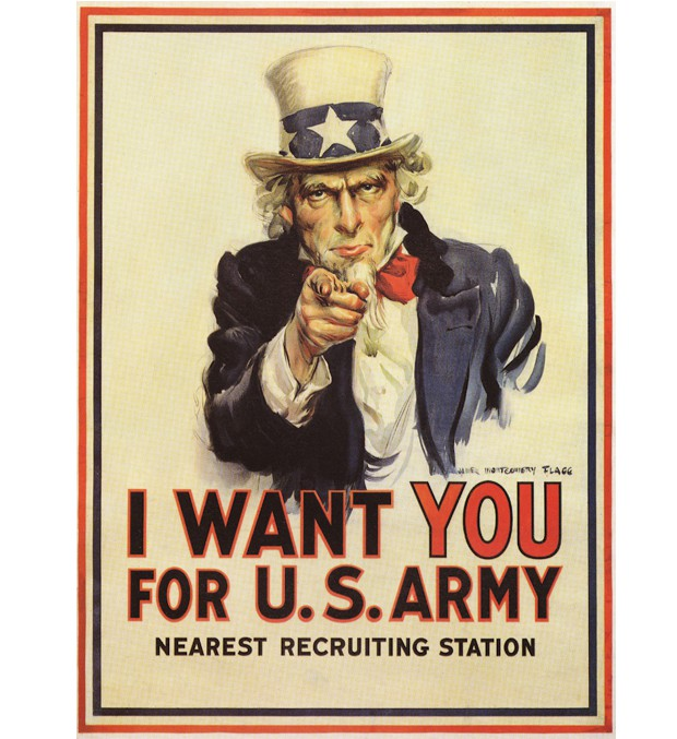 Poster de James Montgomery Flagg, 1917