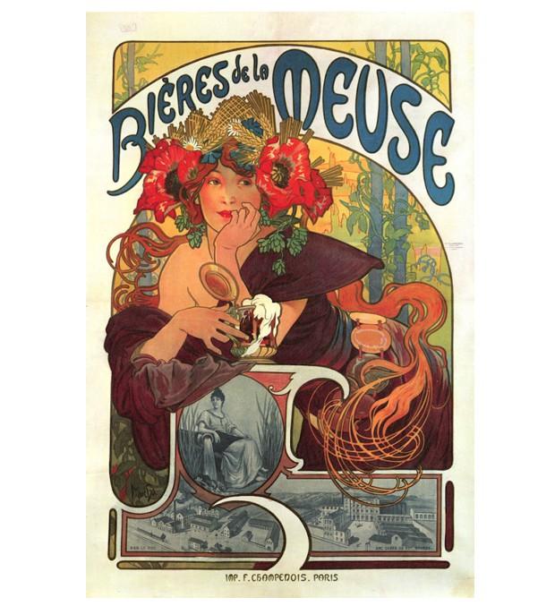 Poster de Alphonse Mucha, 1897