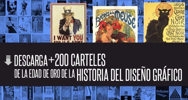 Descarga 200 carteles de la historia del diseño gráfico