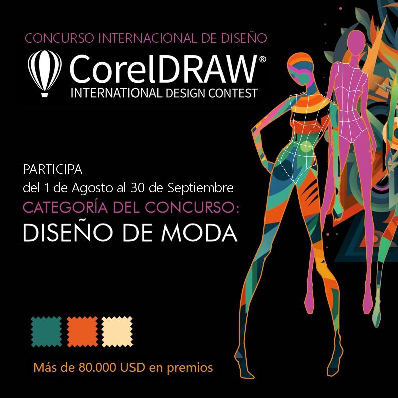 Categoria DISEÑO DE MODA del Concurso de CorelDRAW