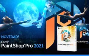 Nuevo Corel PaintShop PRO 2021