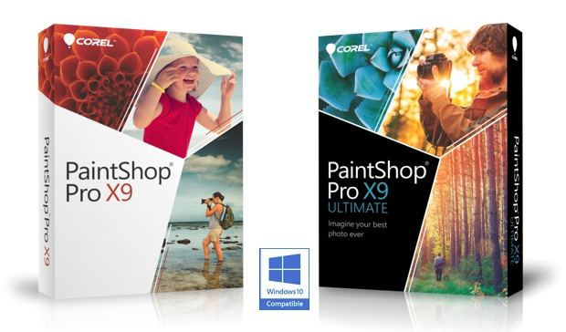 Las dos versiones disponibles de Corel PaintShop PRO