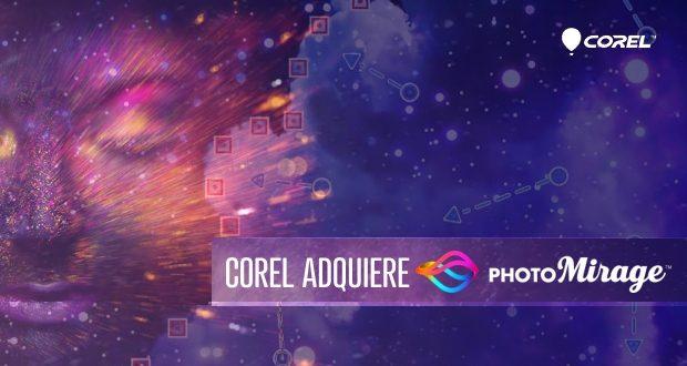 Corel adquiere PHOTOMIRAGE sofware de creación de animaciones