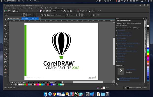 Ejecutando CorelDRAW en Mac gracias a Parallels