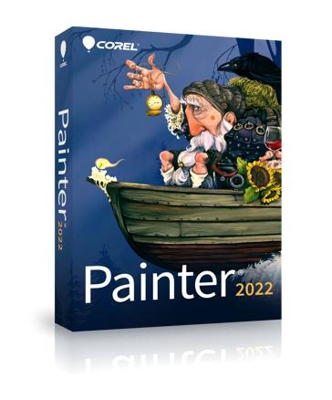 Caja de Corel PAINTER 2022