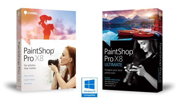 Corel PaintShop Pro X8 versiones Standart y Ultimate