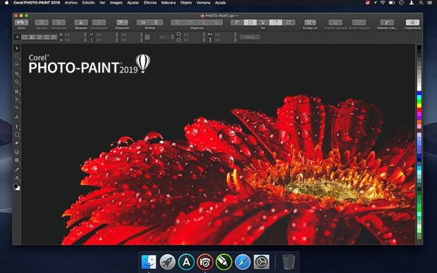 Corel PHOTO-PAINT en Mac