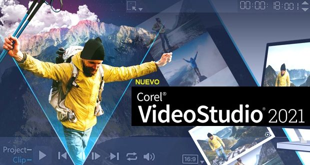 Corel VideoStudio 2021 , el software de edición de vídeo de Corel