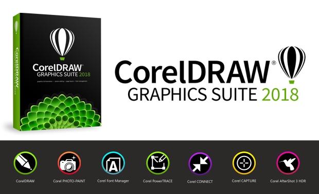 La Suite de Gráficos CorelDRAW 2018