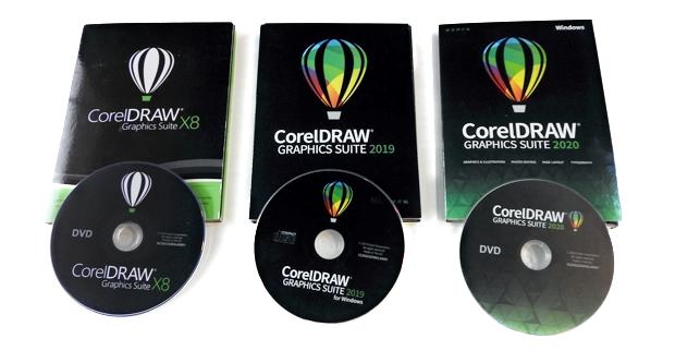 La versión en DVD de CorelDRAW Graphics Suite