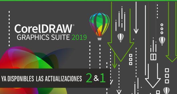 Actualizaciones 1 y 2 de CorelDRAW 2019 para Windows y Mac