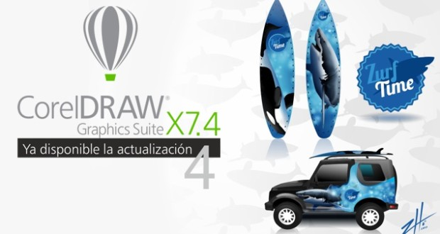 Actualización a CorelDRAW X7.4