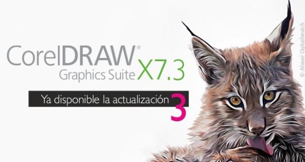 Actualización a CorelDRAW 7.3 ya disponi