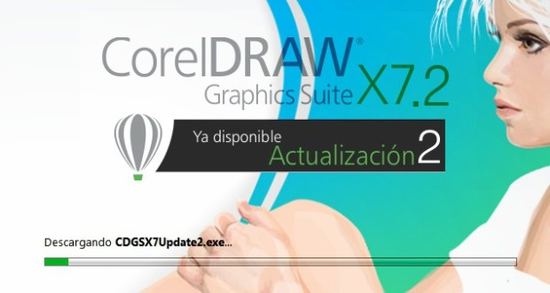 CorelDRAW X7 - Actualización 2 disponible