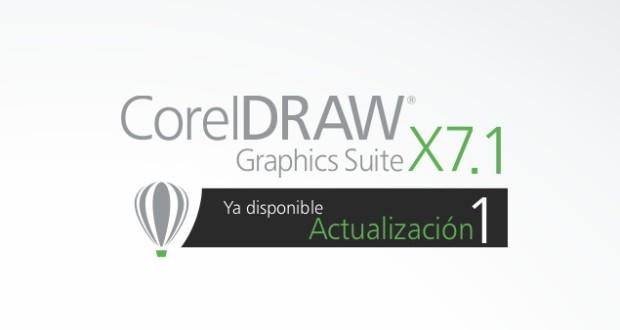 Actualizacion CorelDRAW X7.1