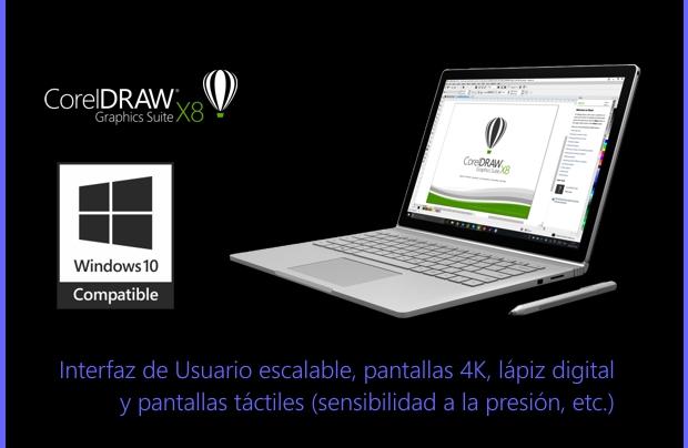 CorelDRAW Graphics Suite X8 está a la última