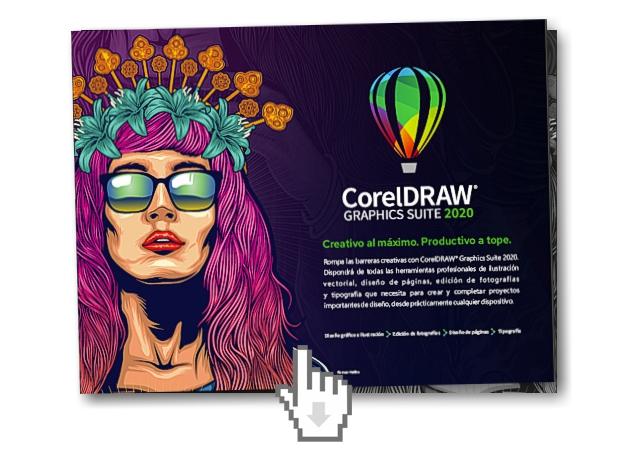 Descarga el folleto informativo de CorelDRAW 2020
