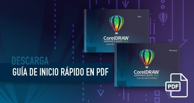 Descarga la Guía de Inicio Rápido de CorelDRAW 2021