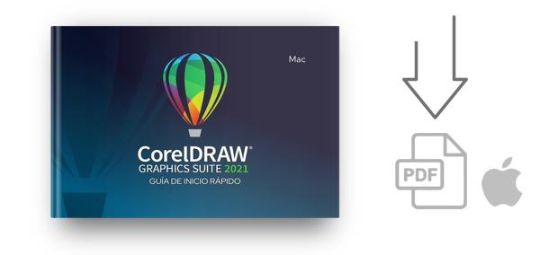 Descarga la Guía de Inicio Rápido de CorelDRAW 2021 para Mac