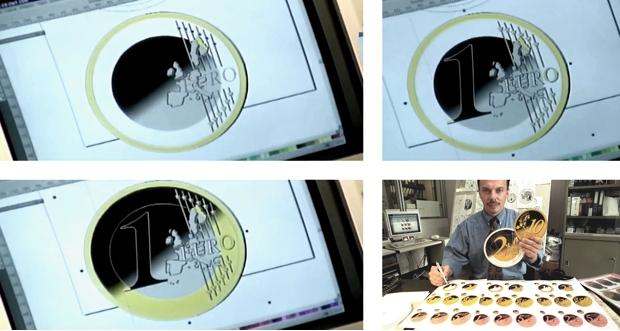 El diseño de la moneda de Euro fue creado en CorelDRAW