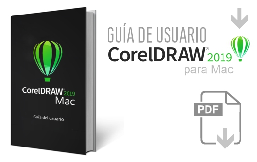 Descarga el manual de CorelDRAW 2019 para Mac en español