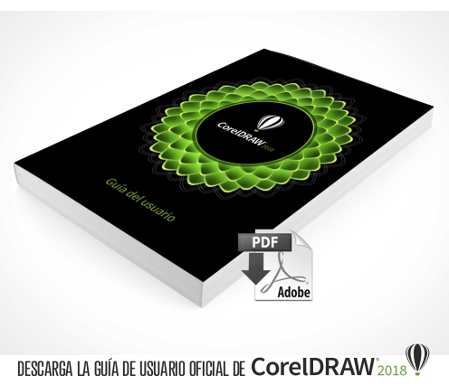 Descarga el manual oficial de CorelDRAW 2018