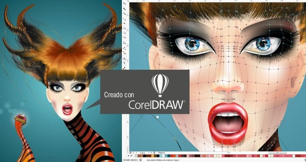 Diseño de moda con CorelDRAW por Eduardo Meliá