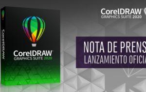 NOTA DE PRENSA OFICIAL Lanzamiento CorelDRAW 2020