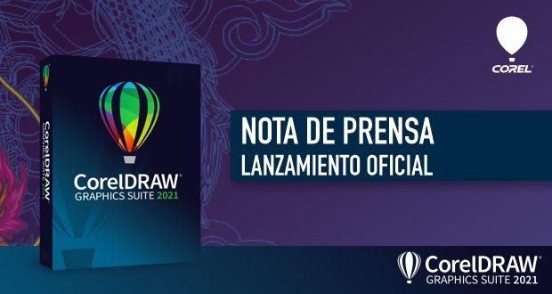 Nota de prensa lanzamiento CorelDRAW 2021