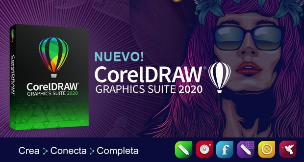 Nuevo CorelDRAW 2020 para Windows y Mac