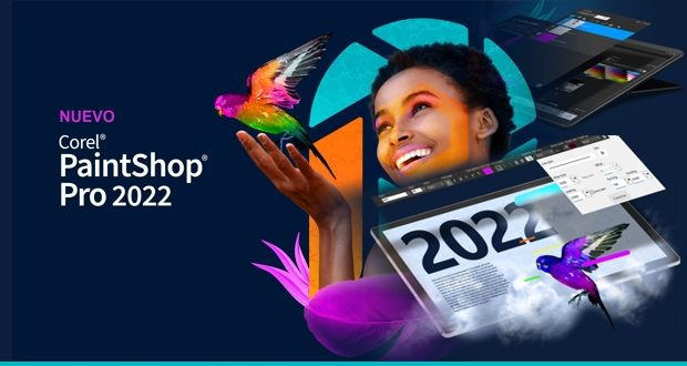 Nuevo Corel PaintShop Pro 2022