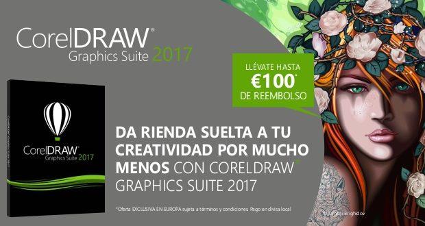 Aprovecha la promoción reembolso para comprar tu CorelDRAW 2017
