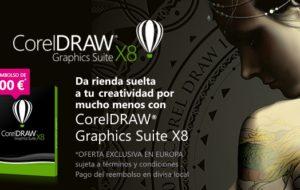 PROMOCIÓN REEMBOLSO DE 100 EUROS AL COMPRAR CORELDRAW X8