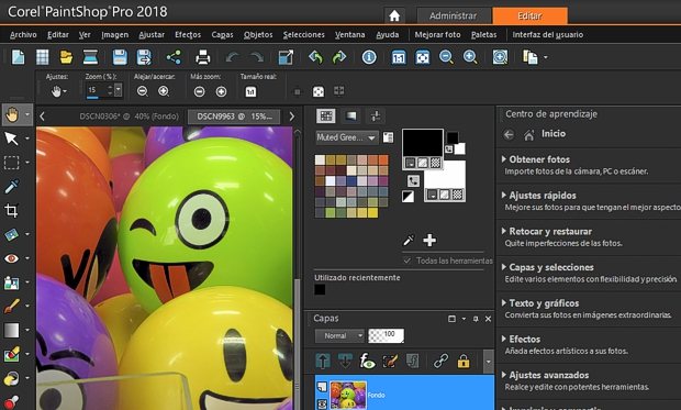Corel PaintSHOP PRO en español