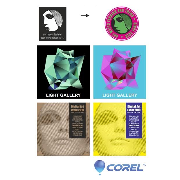Renueve la imagen de su empresa con CorelDRAW 2018