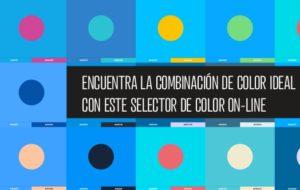 Encuentra la combinación de colores perfecta con este selector on-line