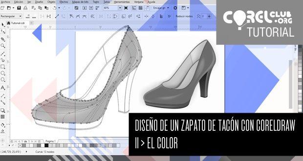 Tutorial Diseño de un zapato de tacón con CorelDRAW