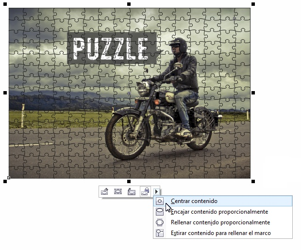 Tutorial Puzzle CorelDRAW