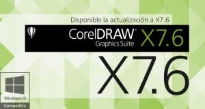 Actualización CorelDRAW X7.6