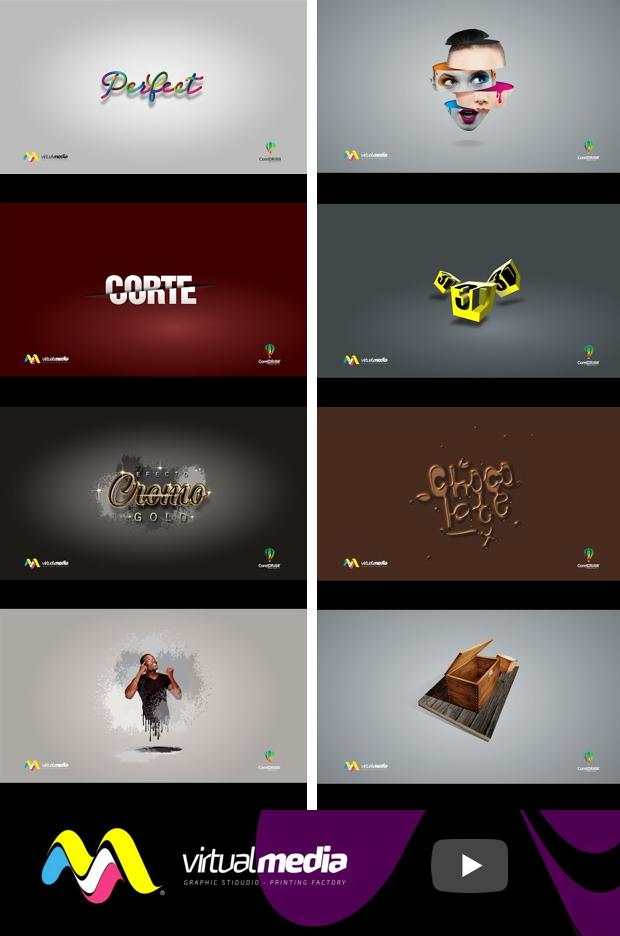 Los vídeo tutoriales de CorelDRAW por Jedalías Mendez