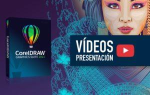 Vídeos con las novedades de CorelDRAW 2021