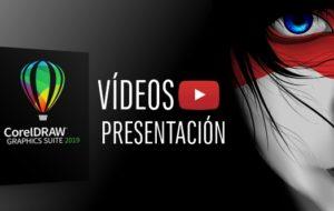 Vídeos oficiales presentación CorelDRAW 2019