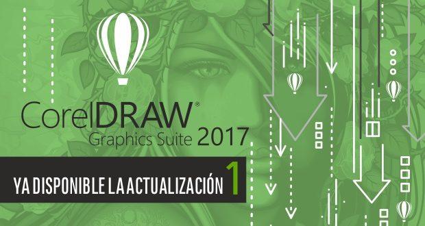 Ya disponible la actualización 1 de CorelDRAW 2017